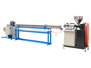 Full Automatic PVC Plastic Filament Wire Extruding Machine For Spiral Binding
